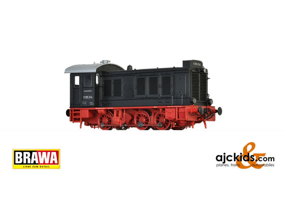 Brawa 41654 - Diesel Locomotive V36 DB, III, DC Analog