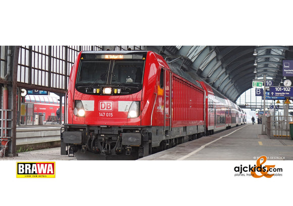 Brawa 43813 - H0 Electric Locomotive BR 147 DB AG, VI, AC EXT