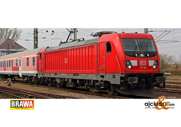 Brawa 43820 - H0 Electric Locomotive BR 187 DB AG, VI, DC EXT