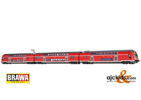Brawa 64515 - N Electric Railcar-Set 445 DB, VI, DC BASIC