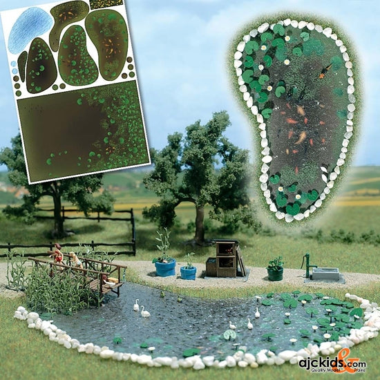 Busch 1210 - Garden Pond Set