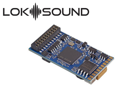 "ESU 58419 - LokSound 5 DCC/MM/SX/M4 ""Blank decoder"", 21MTC, Retail, with Speaker 11x15mm, gauge: 0, H0"