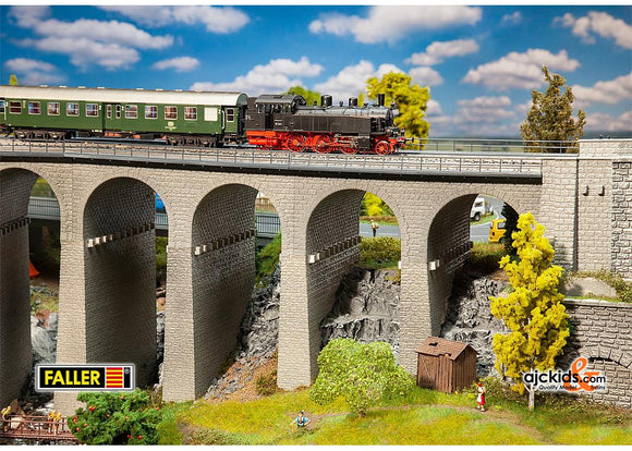 Faller 120465 - Viaduct set, two-track