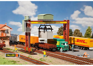 Faller 131368 - Container bridge crane