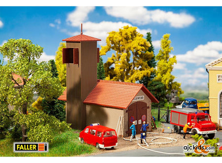 Faller 131383 - Fire brigade engine house