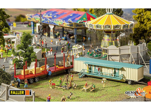 Faller 140482 - Set of funfair caravans III