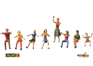 Faller 153050 - Fairground Set of figures I