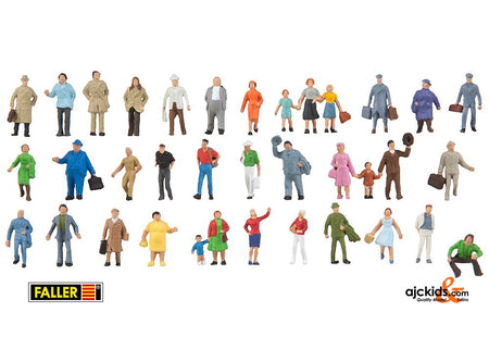 Faller 155358 - Supplementary set with 36 figures