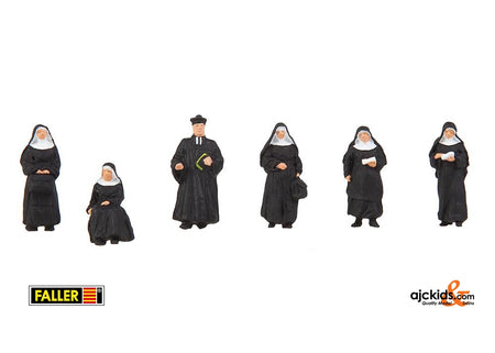 Faller 155360 - Nuns and parson