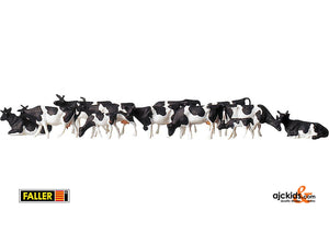 Faller 158050 - Cows, black-spotted