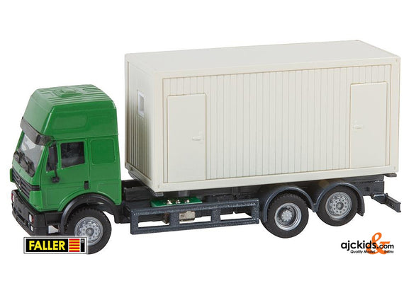 Faller 161480 - Lorry MB SK'94 Building site Container (HERPA)