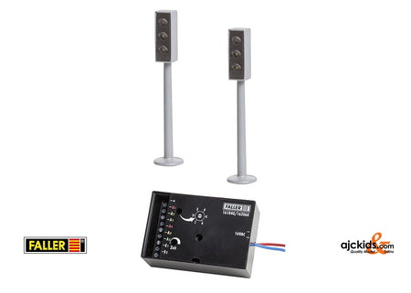 Faller 161840 - 2 LED Traffic lights with electronics