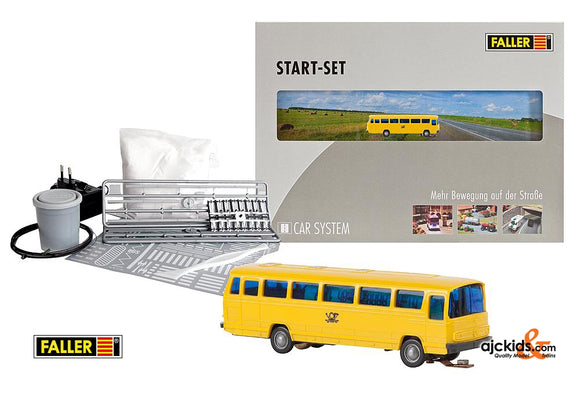 Faller 162008 - Car System Start-Set MB O302 Post bus (N-Scale)