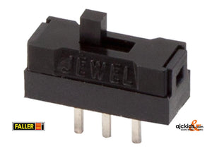 Faller 163402 - On and off switch for passenger cars and N vehicles