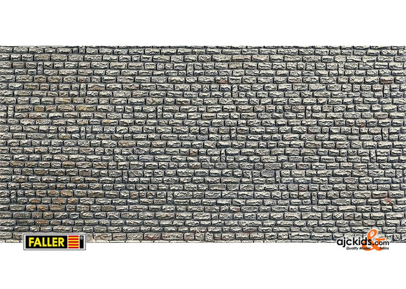 Faller 170603 - Wall card, Natural stone