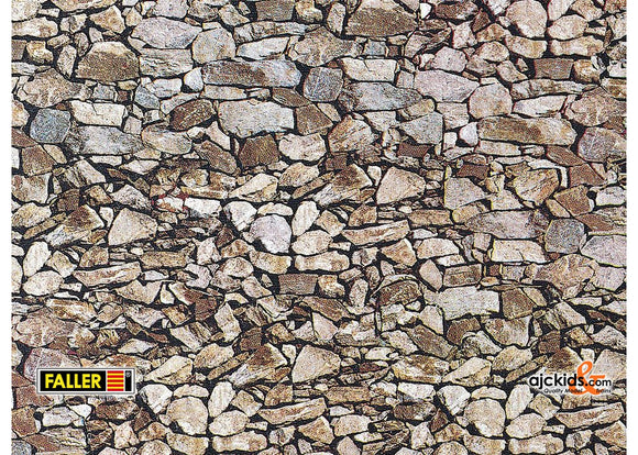 Faller 170610 - Wall panel, Natural stone, monzonite
