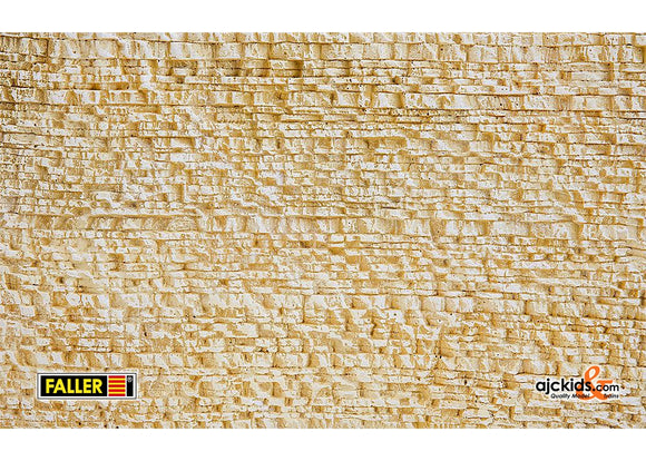 Faller 170860 Decor Sheets Natural Station Scenery and Accessories