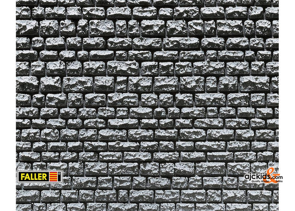 Faller 170863 - Decorative sheet Pros, Stretching masonry