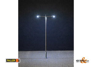 Faller 180203 - LED Street lighting, pole-integrated lamp, two arms