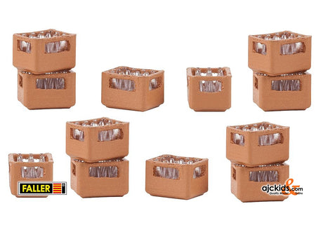 Faller 180334 - Set of beverage crates