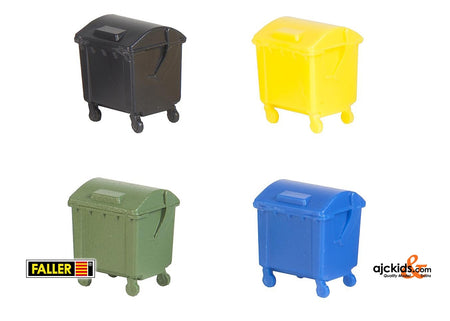 Faller 180343 - Refuse container set