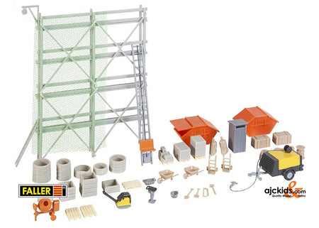 Faller 180345 - Building site equipment set