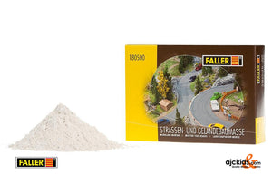 Faller 180500 - Roadway and terrain knifing filler, 500 g