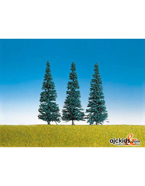 Faller 181432 - Blue spruce tree asmb  3 Pieces