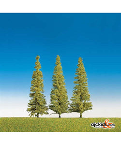 Faller 181437 - Asstd pine trees, 3 Pieces