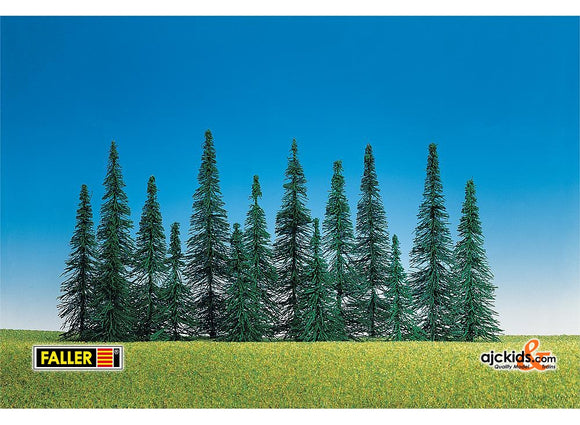 Faller 181439 - Tall fir tree asst, 15/