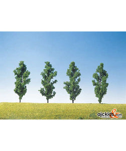 "Faller 181460 - Black poplars 5.1"", 4 Pieces"