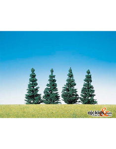 "Faller 181462 - Nordic tree 3.1"", 4 Pieces"