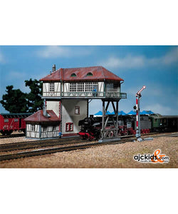 Faller 193125 - Gantry Signal Box 2-Rail