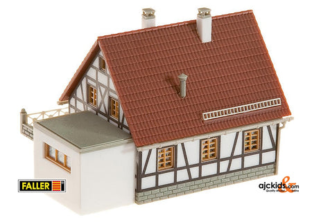 Faller 232215 - Timbered house with garage