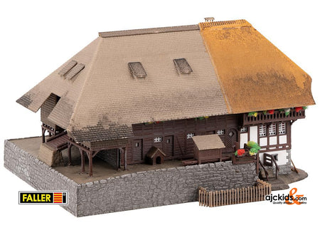 Faller 232395 - Black Forest farm with straw roof