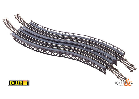 Faller 282905 - 4 Track beds, curved