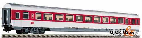 Fleischmann 5109 IC/EC coach in traffic red livery