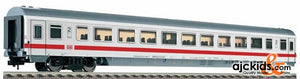 Fleischmann 5184 IC/EC openplan coach in ICE livery, 2nd class, type Bpmz.293.2 of the DB AG