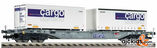 Fleischmann 5241 Container and exchange container wagon, type Sgns of the SBB