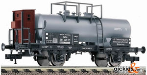 Fleischmann 5439 Tank wagon Zw, with brakeman's cab, of the DR