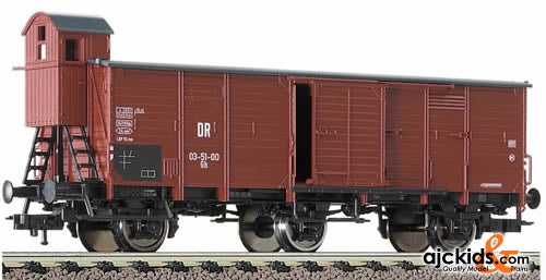 Fleischmann 5731 Box goods wagon with brakeman's cab, 3-axled, type Gh of the DR