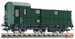 Fleischmann 576901 Baggage coach, 3-axled, type Pw 3 of the DR.