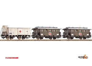 Fleischmann 581206 Set: wagons military hospital 3