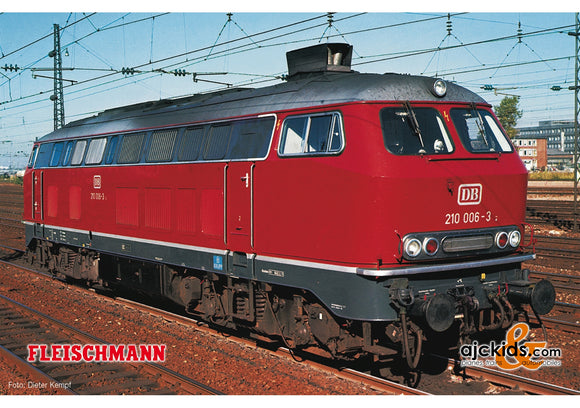 Fleischmann 724290 - Diesel locomotive class 210 with gas turbine drive (Sound)