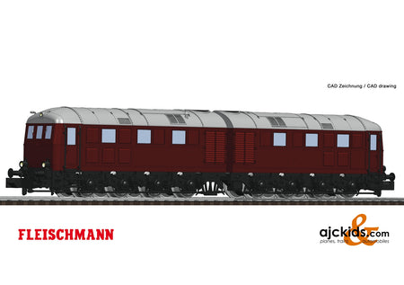 Fleischmann 725100 - Diesel electric double locomotive 288 002-9