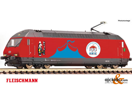 "Fleischmann 731571 - Electric locomotive 460 058-1 ""Circus Knie"" (Sound)"