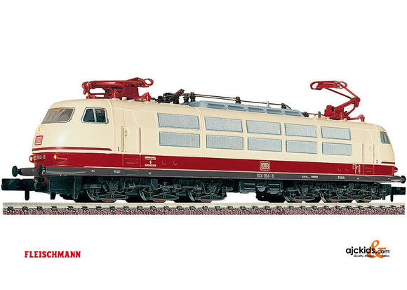 Fleischmann 737602 Electric-Locomotive BR 103 DB creme/red