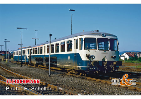 Fleischmann 740101 - Accumulator rail car class 515 with control cab coach