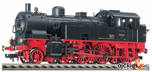 Fleischmann 74046 Tank Locomotive of the DRG, class 76.0, with load-controlled digital DCC sound-decoder