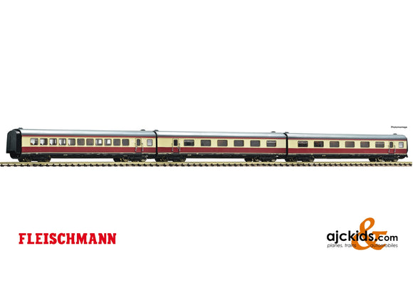 "Fleischmann 741006 - 3 piece set: Additional coaches matching the ""Alpen-See-Express"""